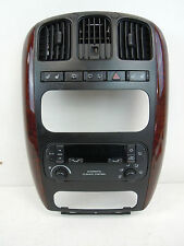 CHRYSLER GRAND VOYAGER FRONT CENTRE TRIM PANEL UNIT WITH A/C HEATER CONTROL