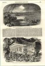 1853 scena della tragedia di SARDANAPALO al Teatro Principessa