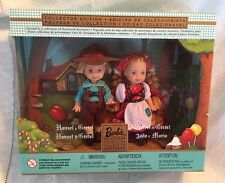 2000 MIB Barbie Baby Sister Kelly Tommy HANSEL & GRETEL NRFB New Storybook