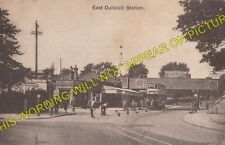 East Dulwich Railway Station Photo. Peckham - North Dulwich Tulse Hill Line. (1)