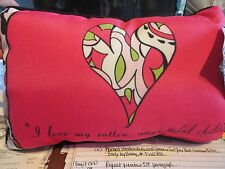 Manual Woodworkers and Weavers Love My Rotten Children Word Pillow # SWLUCH