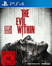 Playstation 4 Spiel: The Evil Within PS 4 Neu & OVP