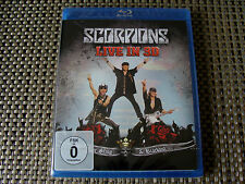 Blu 3D: Scorpions : Live In 3D Get Your Sting & Blackout : Sealed Region Free
