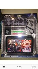 Star Wars 3D Darth Vader 9Pc Gamer Protection Set Case Nintendo 3DS and DSi XL