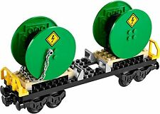 Lego City CABLE DRUM WAGON- Split from CARGO TRAIN set 60052 *NEW & UNASSEMBLED*