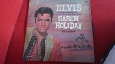 ELVIS PRESLEY Harem Holiday   mega rare  ISRAELI LP