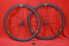 MAVIC R-SYS SLR CLINCHER ROAD BIKE WHEELSET & TIRES w/ EXALITH VERY NICE!!!