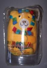 NIP Mud Pie Yellow Lion Ouch Pouch Ice Pack Freezable