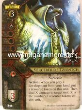 Warhammer Invasion - 1x Sorcerer of Tzeentch #053 - The Twin Tailed Comet