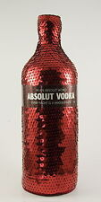 ABSOLUT Vodka MASQUERADE Red Sequins SKIN Case Cover 1Litre LimtedEdition NEW