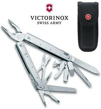 Victorinox Swiss Army Knife S. Steel SwissTool X Nylon Belt Pouch & 28 Functions