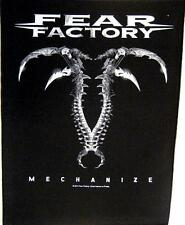 "FEAR FACTORY RÜCKENAUFNÄHER / BACKPATCH # 1 ""MECHANIZE"""