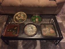 Vintage Lot Of 5 Pre-prohibition Pekin IL Beer Whiskey Trays American Brewing Co