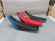HONDA CR80R Seat Cover CR85  2-TONE or 25 COLORS 1996 1997 1998 1999 2000 (2pc)