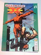 X-MEN ULTIMATE #21 10TH NOVEMBER 2004 UK MAGAZINE DAREDEVIL WOLVERINE