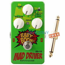 Biyang Baby Boom OD-10 Tube Tone Mad Drive Overdrive Guitar Effect Pedal JRC4558