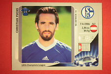 PANINI CHAMPIONS LEAGUE 2012/13 N. 107 FUCHS SCHALKE 04 BLACK MINT!
