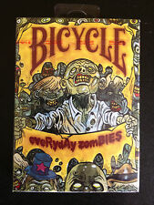 Bicycle Everyday Zombies playing cards NEW and Sealed!