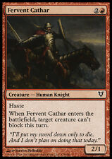 MTG 4x FERVENT CATHAR - CATARO FERVENTE - AVR - MAGIC