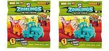 2x Zomlings In The Town Series 3 Sealed Ghost Train Pack random