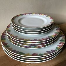 Lovely 12 piece Set Bernardaud Limoges Creation Clarence House Bel Ami Plates