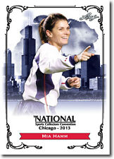 MIA HAMM - 2013 Leaf National Sports Convention PROMOTIONAL Women's Soccer Card