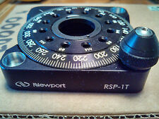 """Newport Model RSP-1T 360° Continuous Rotation Stage (Brand New), Rotary Mount 1"""""""