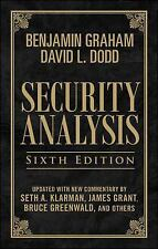 Security Analysis, Sixth Edition Leatherbound Edition