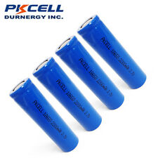 4 x 18650 Vape Battery Rechargeable Li-ion Unprotected 2200mAh 3.7V PKCELL
