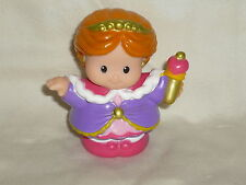 Fisher Price Little People Castle Red Hair QUEEN