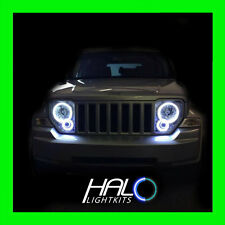 2008-2013 JEEP LIBERTY WHITE PLASMA LIGHT HEADLIGHT HALO KIT by ORACLE LIGHTING