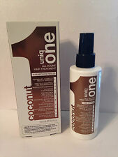 UNIQ ONE UNIQUE 1 COCONUT ALL IN ONE HAIR TREATMENT SPRAY  5.1oz + TRAVEL SPRAY