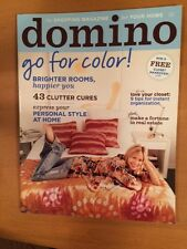 BRAND NEW domino Magazine ~ April 2006 (No Barcodes)