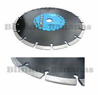 "9"" INCH 230MM DIAMOND ANGLE GRINDER CUTTING DISC HARD BRICK MASONRY STONE TILE B"