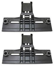 (2) Dishwasher Rack Adjuster for Whirlpool Kenmore W10253546 W10350376