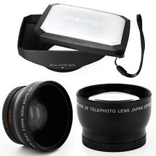 52mm 16:9 Hood, Wide Angle,Tele Lens for Olympus Zuiko Digital 35mm 1:3.5 Macro