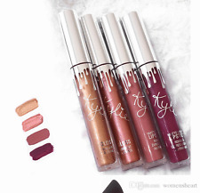Kylie Holiday Edition Lip Kit (4 Color Kit)1 MAC KAJAL & 1 SHARPENER