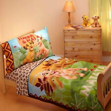 Disney The Lion King Simba Cot Junior Bed 4pc Comforter Set Baby Toddler Quilt