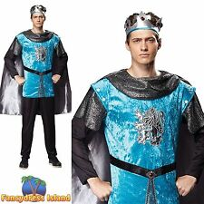 FAIRYTALE ROYAL KING PRINCE KNIGHT PANTO One Size Mens Fancy Dress Costume