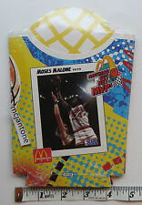 1994 McDonald's NOTHING BUT NET MVPs NBA Comp Set 6 FRY CONTAINERS Unused MIP