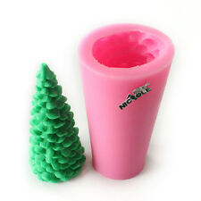 Christmas Tree Silicone Candle Moulds Soap Making Craft Cake Decorating Mould