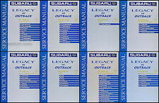 2001 Subaru Legacy and Outback Repair Shop Manual Set