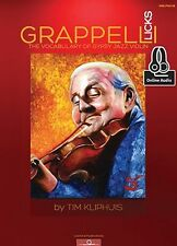 Play Grappelli Licks The Vocabulary of Gypsy Jazz FIDDLE MUSIC ONLINE AUDIO