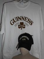 GUINNESS BEER HAT COMBO T SHIRT SIZE XL NWT