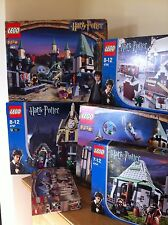 Lego Harry Potter chillonas Shack 4756 100% Completo Raro retirado &