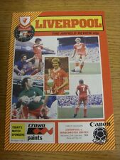 02/01/1984 Liverpool v Manchester United [Championship Season] (folded). Thanks