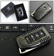 FOR LEXUS 2014-2017 IS KEYLESS ENTRY SMART FOB LUXURY CARBON FIBER SNAP ON CASE