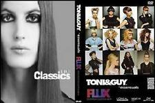 .TONI&GUY Flux&Classics  7 DVDs/TIGI/ TUITION CUTTING/HAIRDRESSING j2s