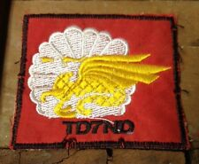 ARVN 7th Airborne Patch