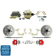 "1955-58 GM Full Size Disc Brakes W/ 8"" Dual Zinc Booster Conversion Kit 204R"